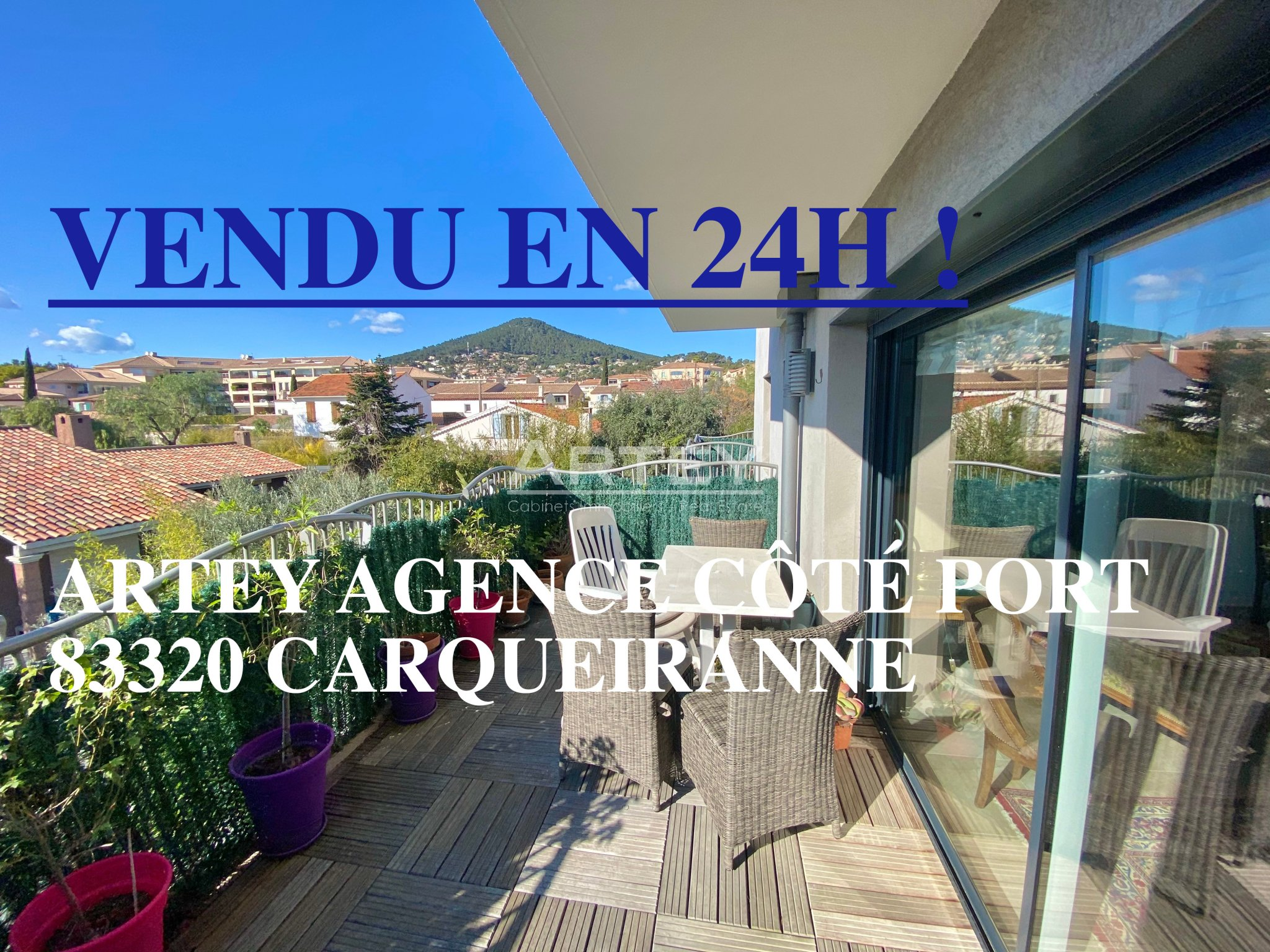 For sale Apartment Carqueiranne
